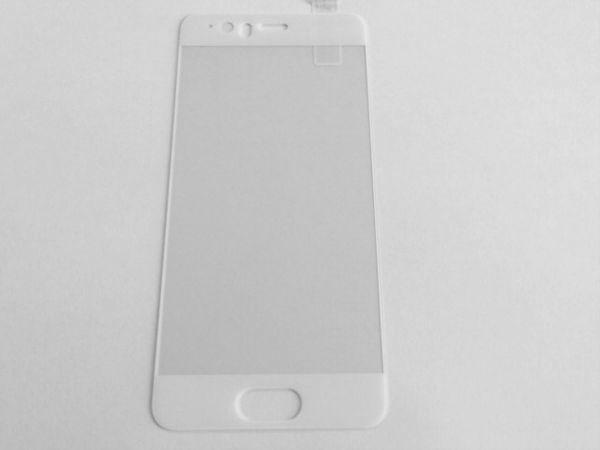 HUAWEI P10 5.1インチ 枠白色 9H 0.26mm 強化ガラス 液晶保護フィルム 2.5D K343_画像2