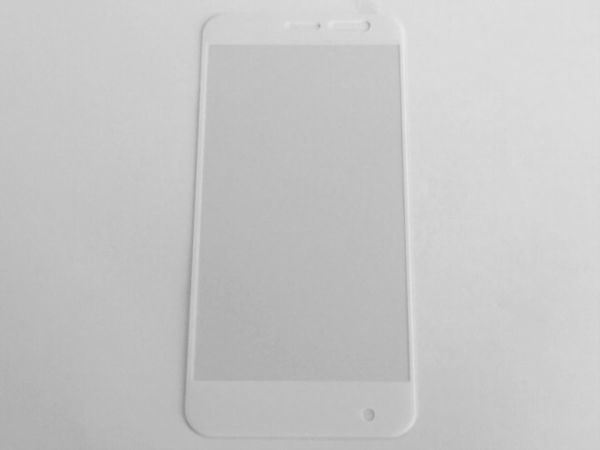 AQUOS ea 606SH Android One 507SH 9H 0.26mm 枠白色 強化ガラス 液晶保護フィルム 2.5D K330_画像2