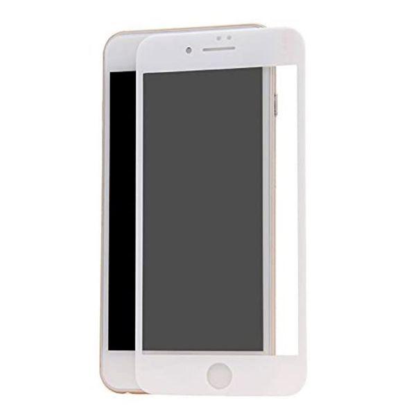 iPhone6 Plus iPhone6s Plus 5.5インチ 9H 0.26mm 枠白色 全面保護 強化ガラス 液晶保護フィルム 2.5D KA20_画像1