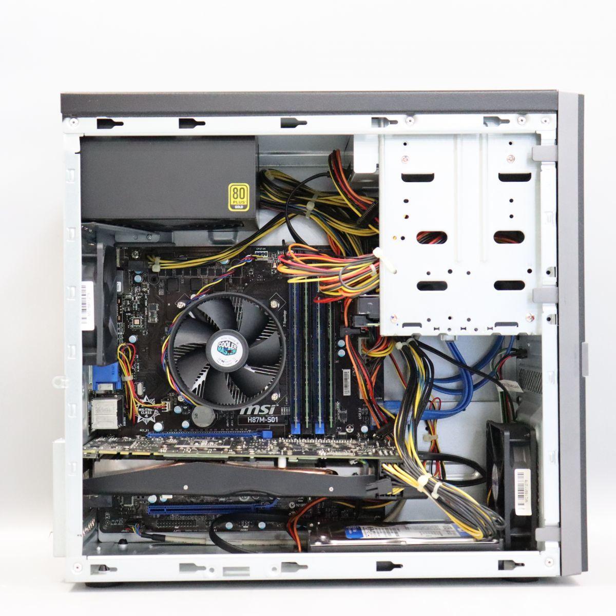 1円スタート GTX 770 搭載 ゲーミングPC MousePro CPU:Core i7-4770/メモリ16GB/HDD1TB /Windows 10 Pro_画像3
