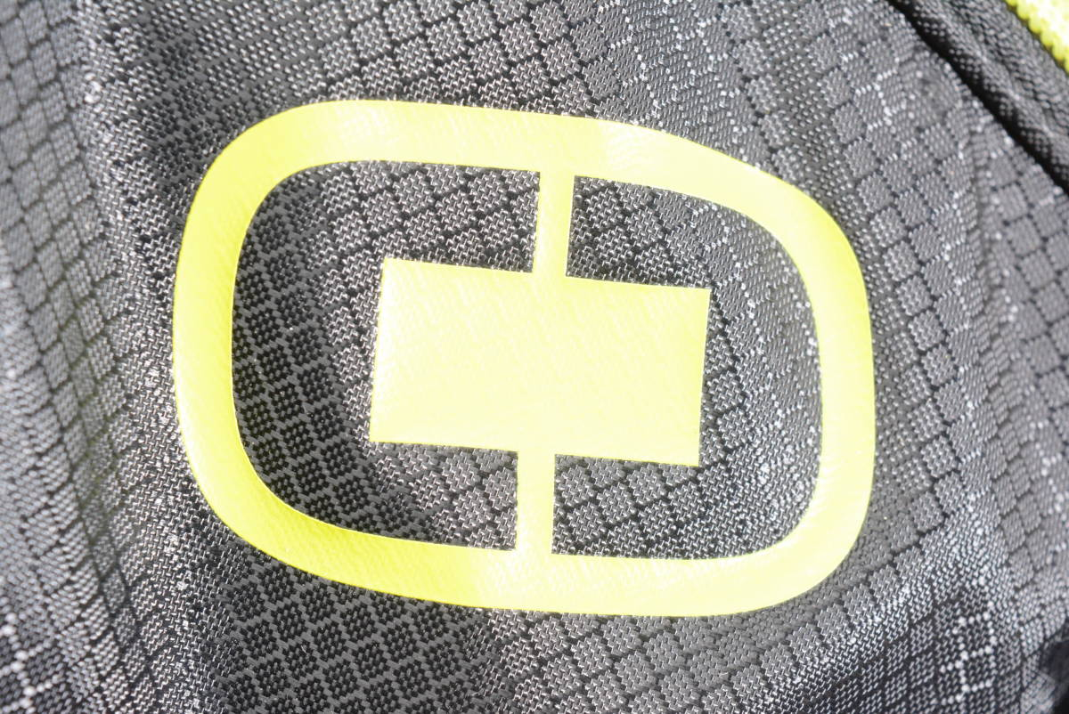 【程度良好 軽量モデル】オジオ メンズ スタンド キャディバッグ ブラック/イエロー 8.5型 46インチ対応 キャディーバック 正規品_画像10