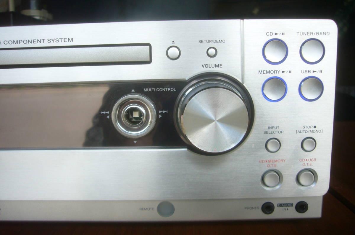 ケンウッド CD  レシーバー アンプ RD-UDA55 音出る・訳あり_画像4