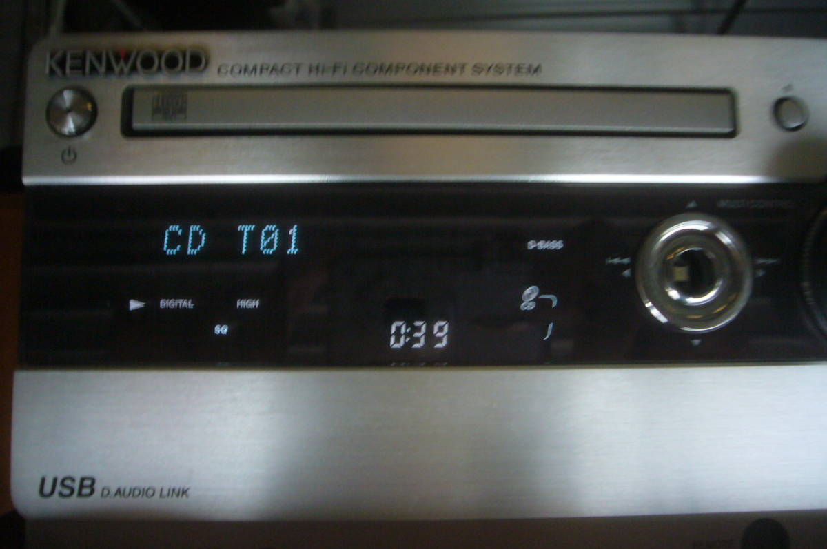 ケンウッド CD  レシーバー アンプ RD-UDA55 音出る・訳あり_画像6