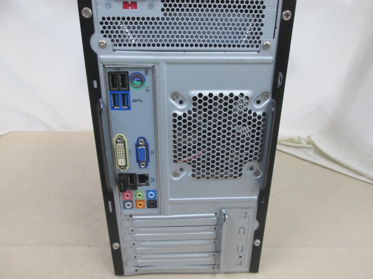 マウスコンピューター EGPI726BC10P Core i7 2600 3.4GHz 8GB 1TB ブルーレイ Win10 64bit Office USB3.0 Wi-Fi [79423]_画像4