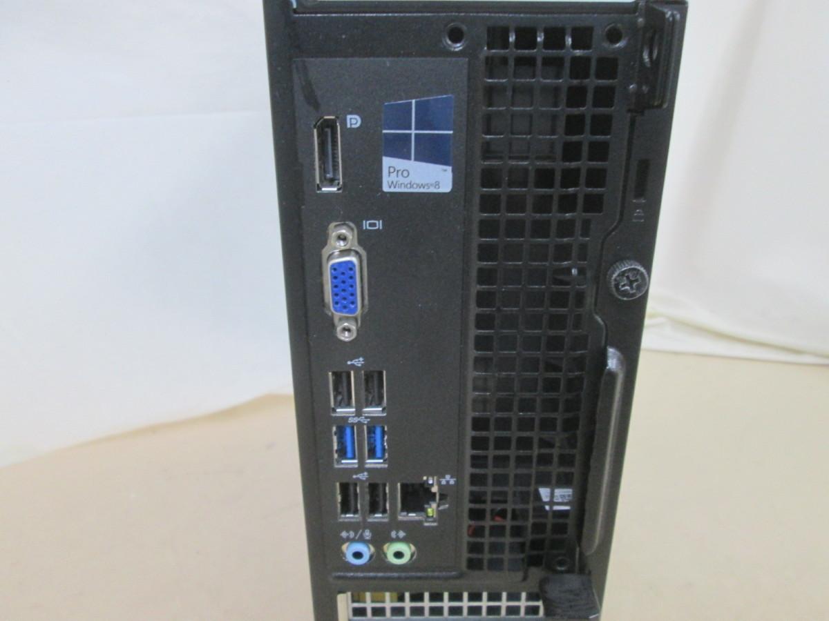 DELL OptiPlex 3020 Core i3 4130 3.4GHz 4GB 500GB DVD作成 Win10 64bit Office USB3.0 [79468]_画像3