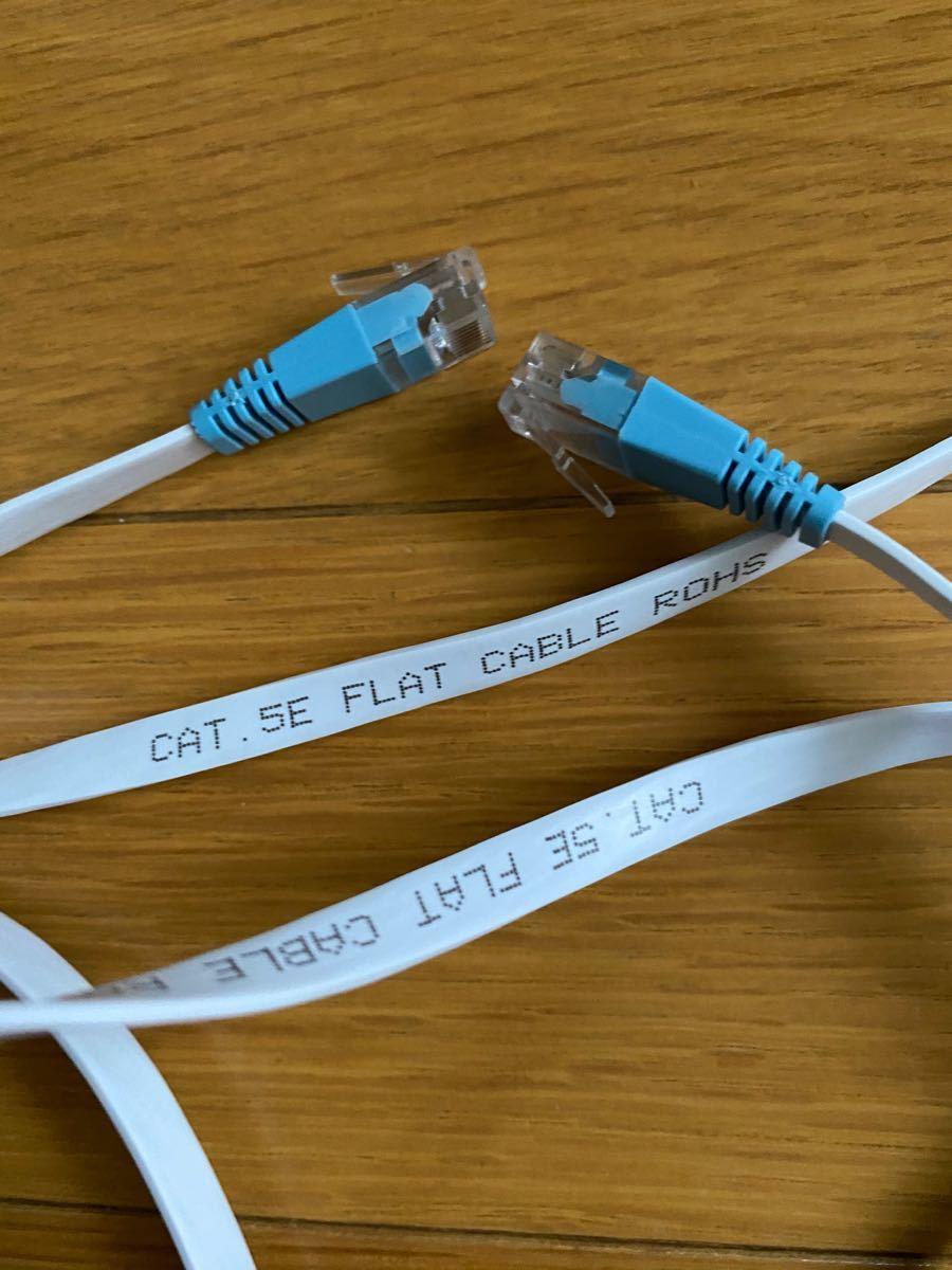 LANケーブル CAT. 5E FLAT CABLE ROHS