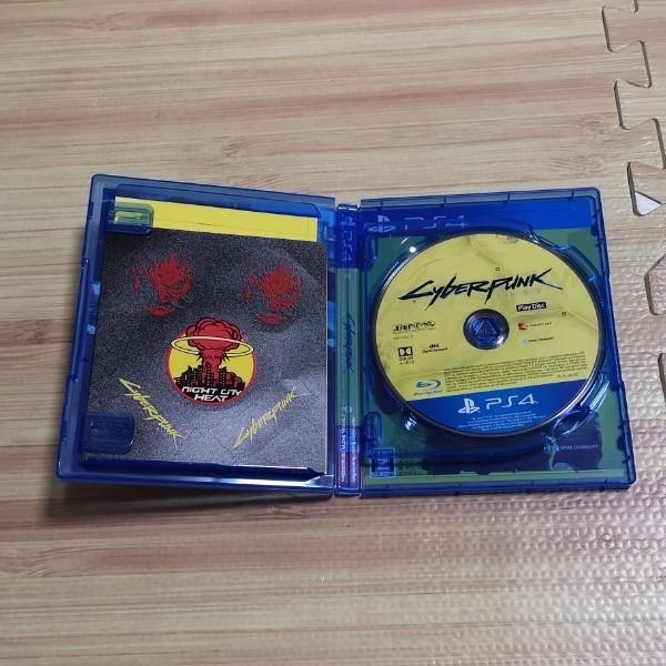 PS4ソフト サイバーパンク 中古