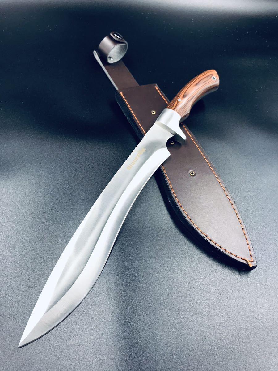期間限定!送料無料。サバイバルナイフ ハンティングナイフ シースナイフ HDDアウトドアナイフ KNIFE ナイフ