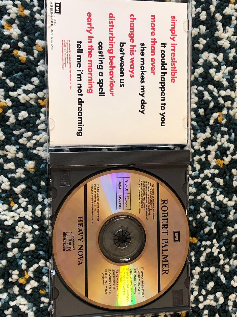 【国内盤CD】ロバート・パーマー『ヘヴィーノヴァ』