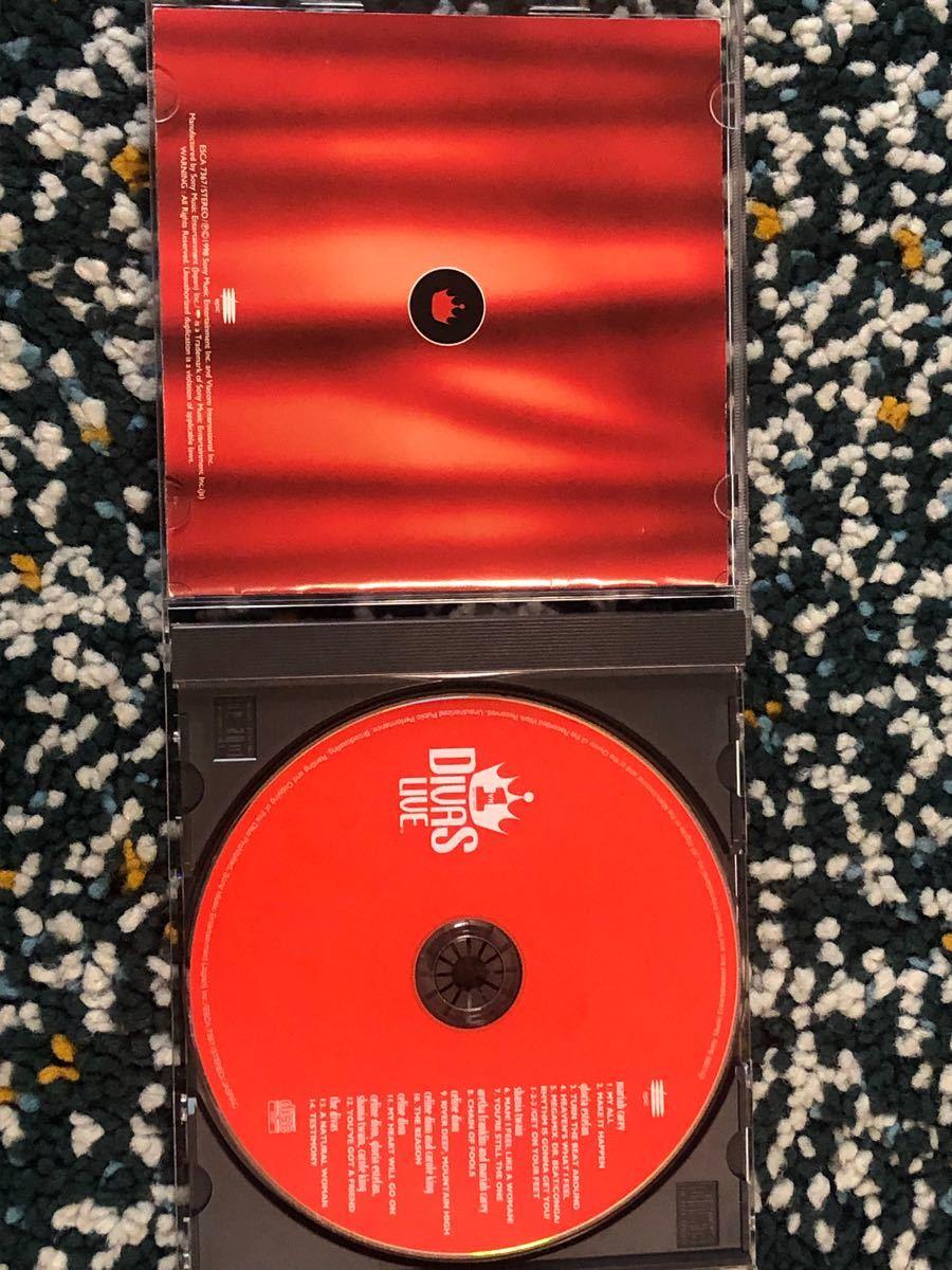 【国内盤CD】世紀のライヴ、女神たちの競演 - ディーヴァズ・ライヴ