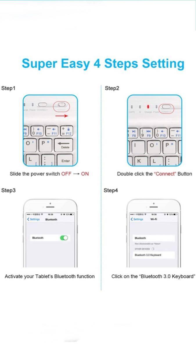 Bluetooth ワイヤレスキーボード Bluetoothキーボード