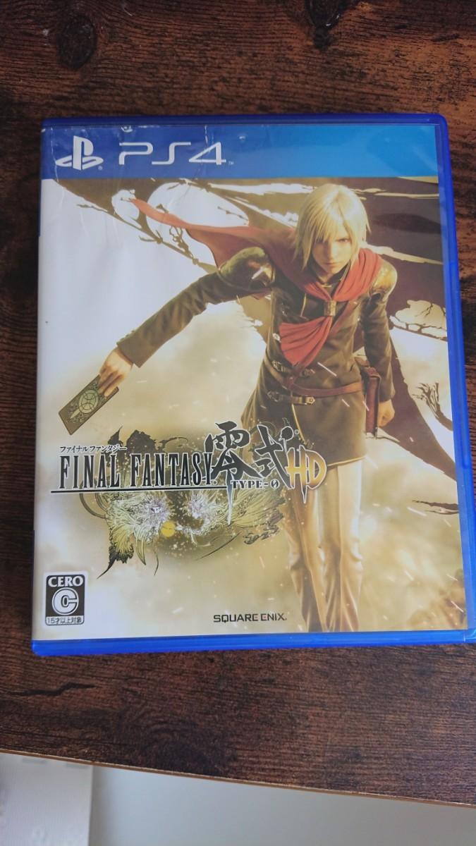 PS4 ファイナルファンタジー零式HD 【中古美品】