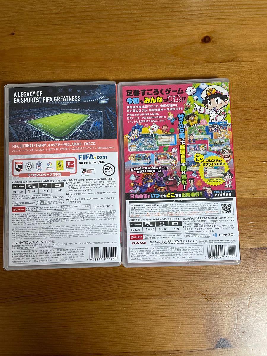 Nintendo Switch ニンテンドースイッチソフト 桃鉄とFIFA