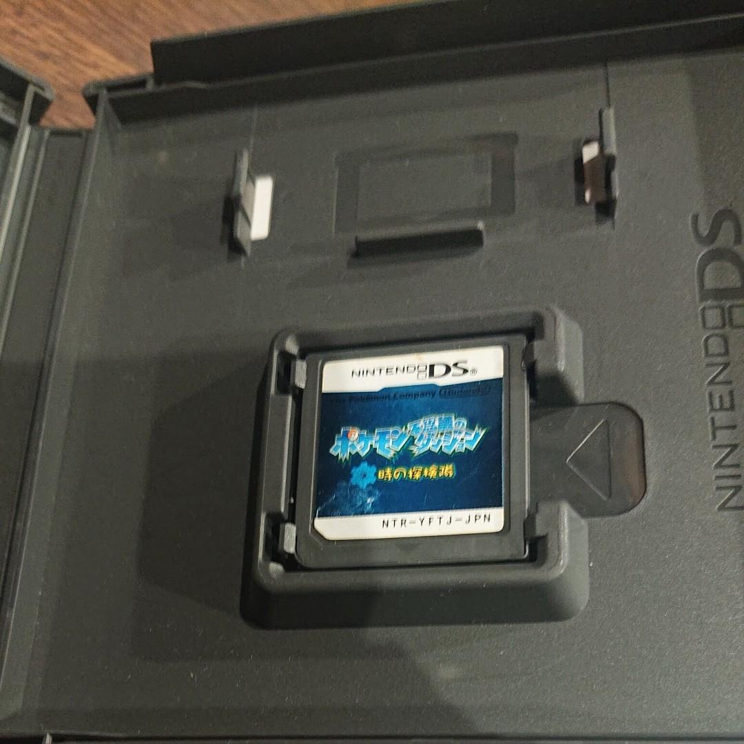 ポケモン不思議のダンジョン 時の探検隊 任天堂DS ニンテンドーDSソフト