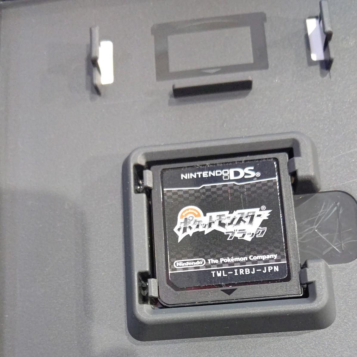 ポケットモンスター ブラック DS Nintendo ニンテンドー DS用ソフト