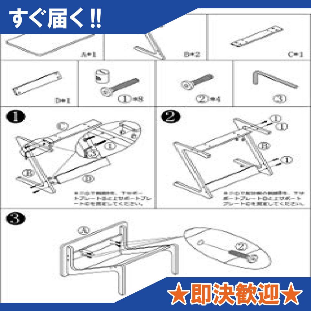 原木色-45×35×60cm リビング ソファ サイドテーブル ノートパソコンテーブル 竹製 ベッドサイドテーブル Z字型が使い_画像9