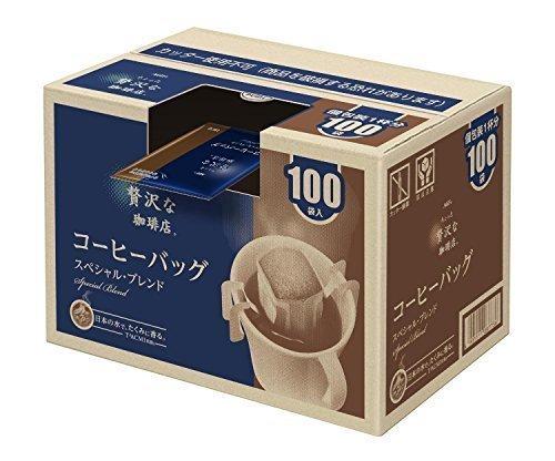 新品AGF ちょっと贅沢な珈琲店 レギュラーコーヒー ドリップパック スペシャルブレンド 7g*100袋_画像1