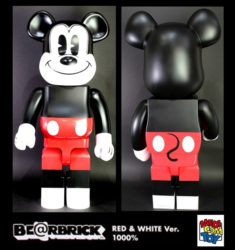 BE@RBRICK (ベアブリック) MEDICOM TOY BE@RBRICK MICKEY MOUSE  1000%