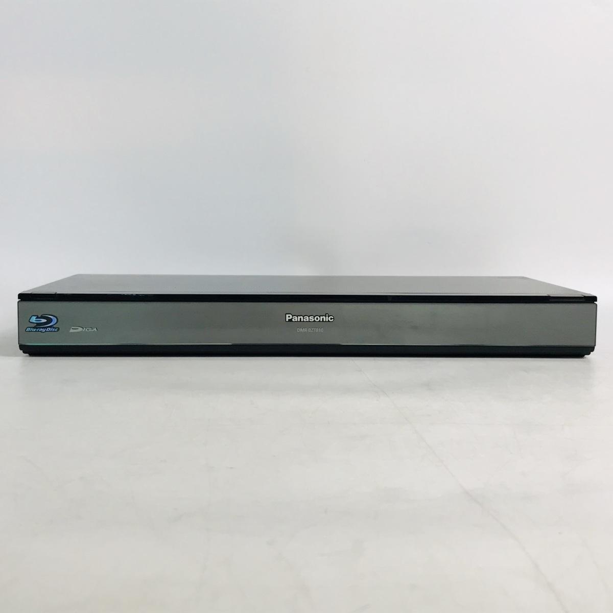 中古難あり Panasonic DIGA ブルーレイディスクレコーダー DMR-BZT810 リモコン欠品_画像2