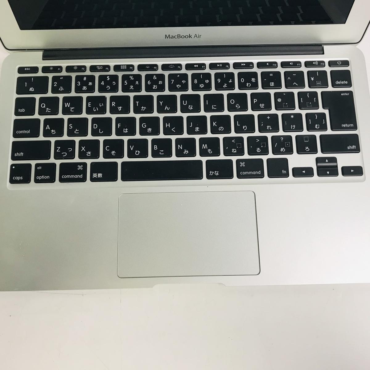 ジャンク MacBook Air 11インチ(Early 2015) Core i5 1.6GHz/4GB MJVM2J/A_画像2