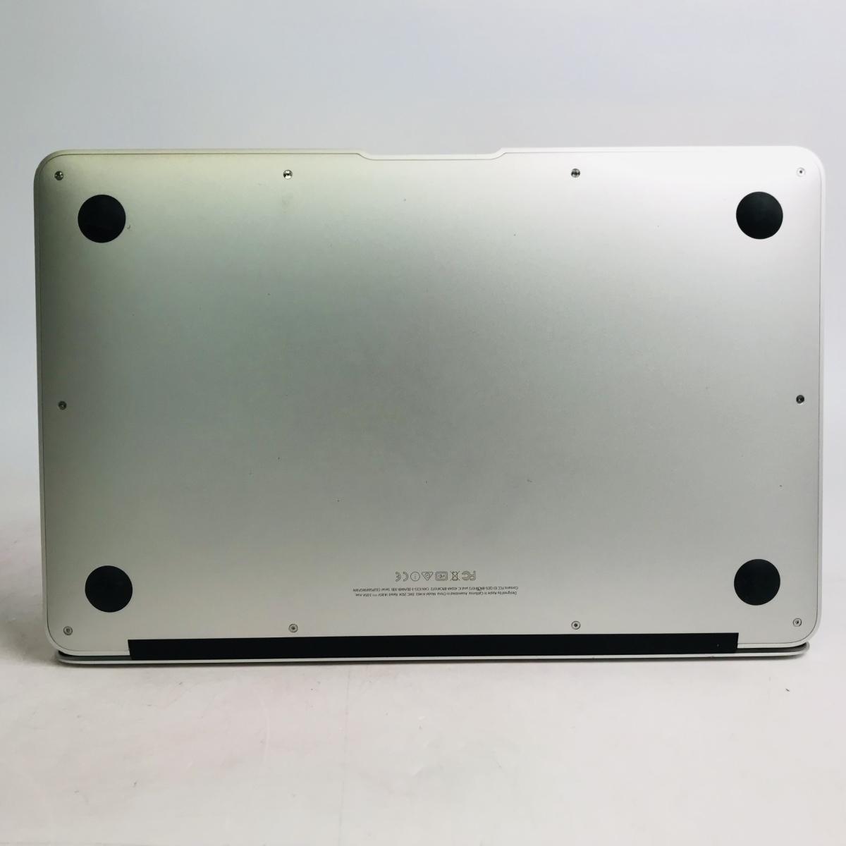 ジャンク MacBook Air 11インチ(Early 2015) Core i5 1.6GHz/4GB MJVM2J/A_画像6