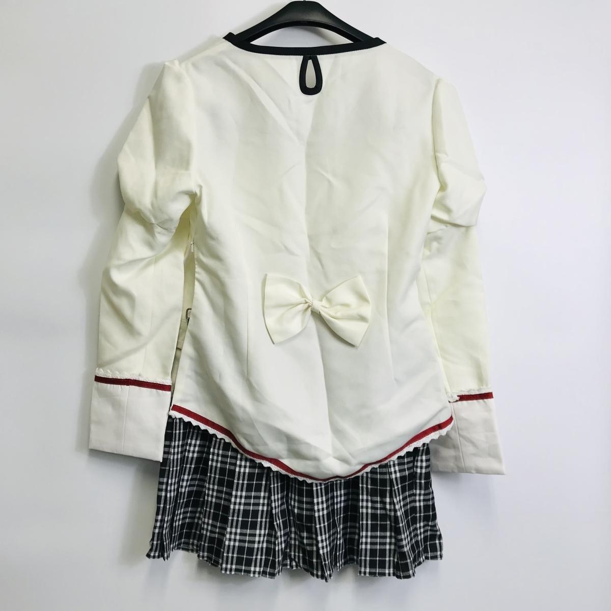 コスプレ衣装 魔法少女まどか☆マギカ 市立見滝原中学校制服風 女性Lサイズ相当_画像2