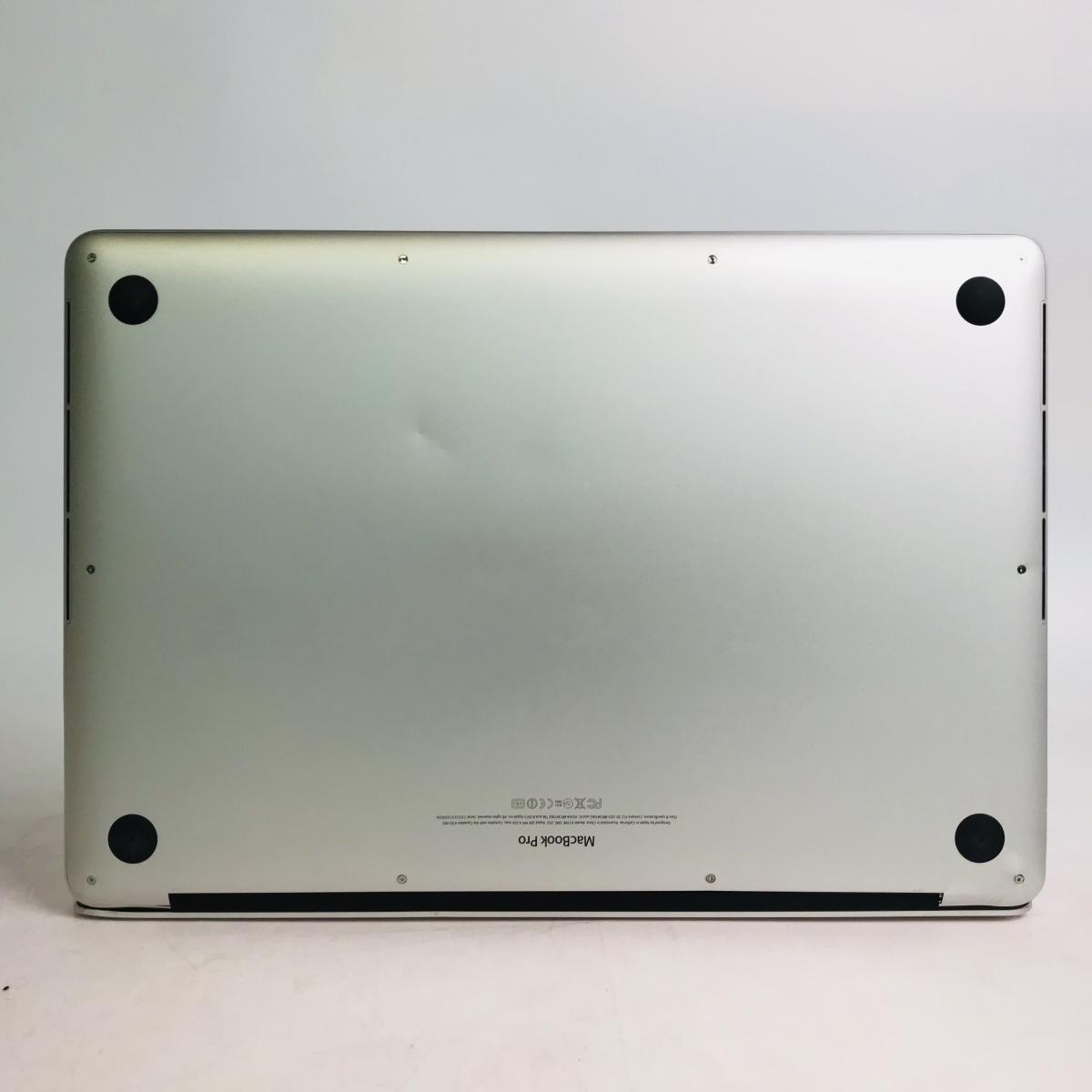 ジャンク MacBook Pro Retina 15インチ(Mid 2012) Core i7 2.3GHz/8GB MC975J/A_画像6