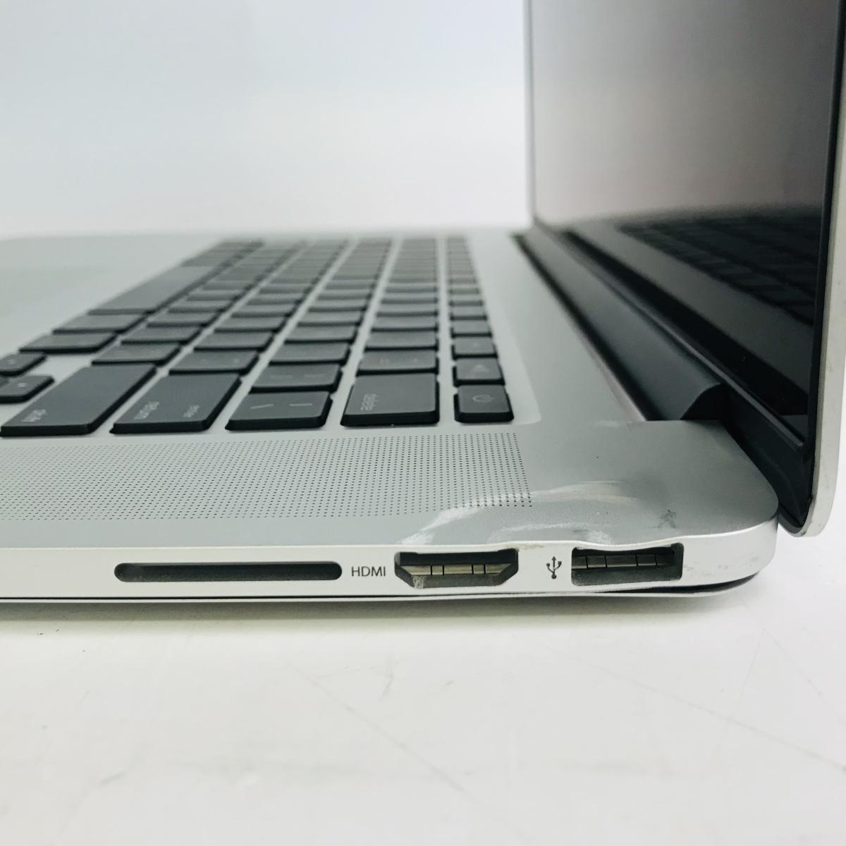 ジャンク MacBook Pro Retina 15インチ(Mid 2012) Core i7 2.3GHz/8GB MC975J/A_画像4