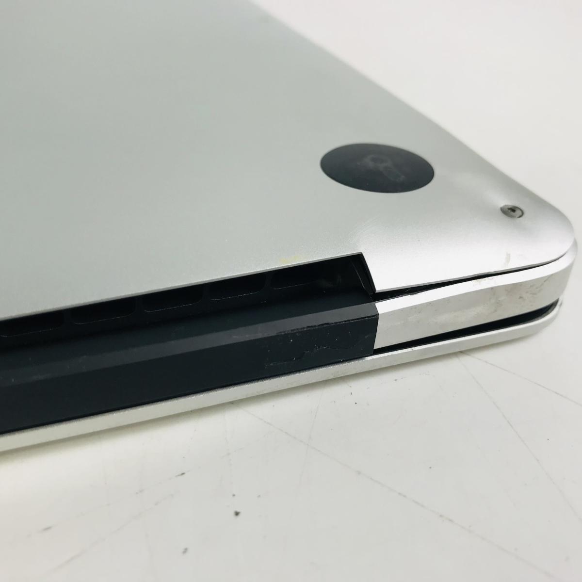 ジャンク MacBook Pro Retina 15インチ(Mid 2012) Core i7 2.3GHz/8GB MC975J/A_画像10