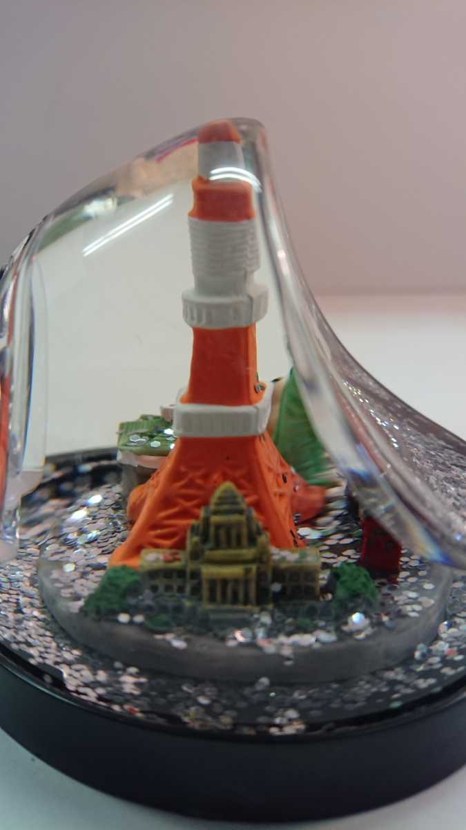 東京 東京タワー ランドマーク 置物 オブジェ スノー _画像2