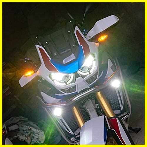 【期間限定セール】 サブライト ホワイトスポット配光ヘッドライト 車補助灯 オートバイ補助フォグランプ バイク用フォグライト 90W_画像6