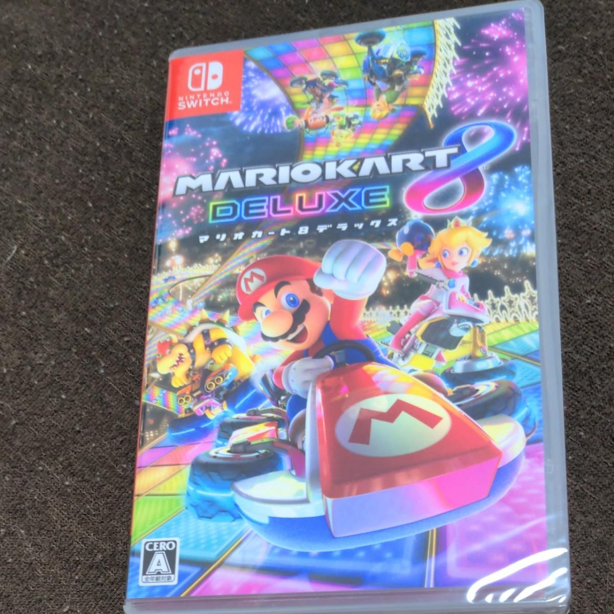 新品未開封★ マリオカート8デラックス Nintendo Switch ニンテンドースイッチ