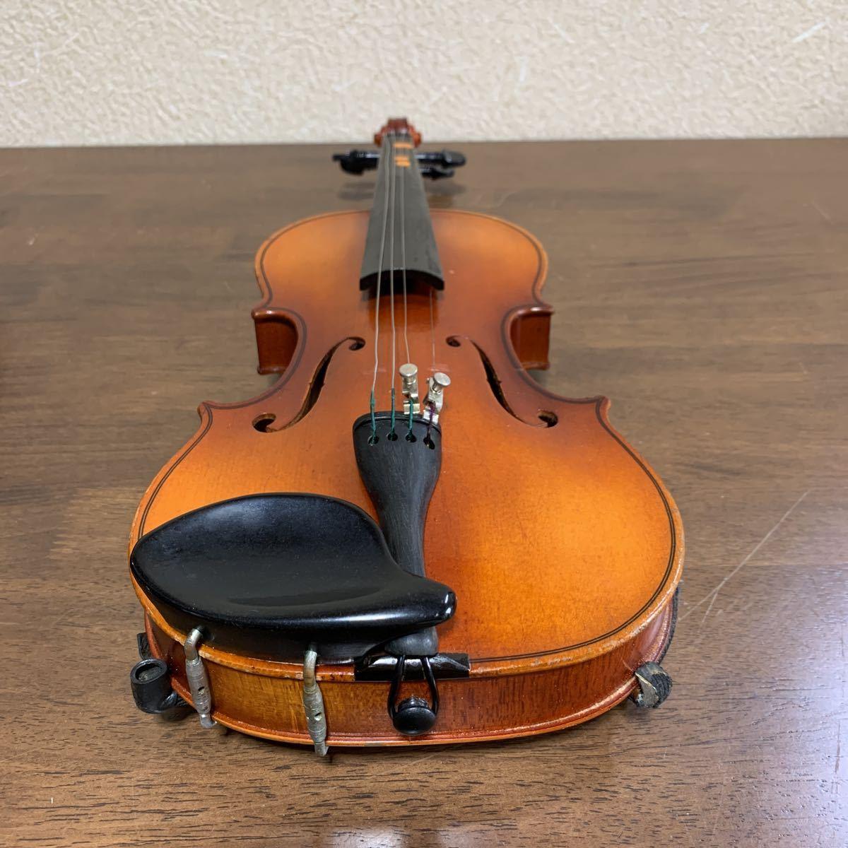 1円スタート SUZUKI 鈴木バイオリン スズキ バイオリン ハードケース付 弦楽器 中古 ジャンク_画像6