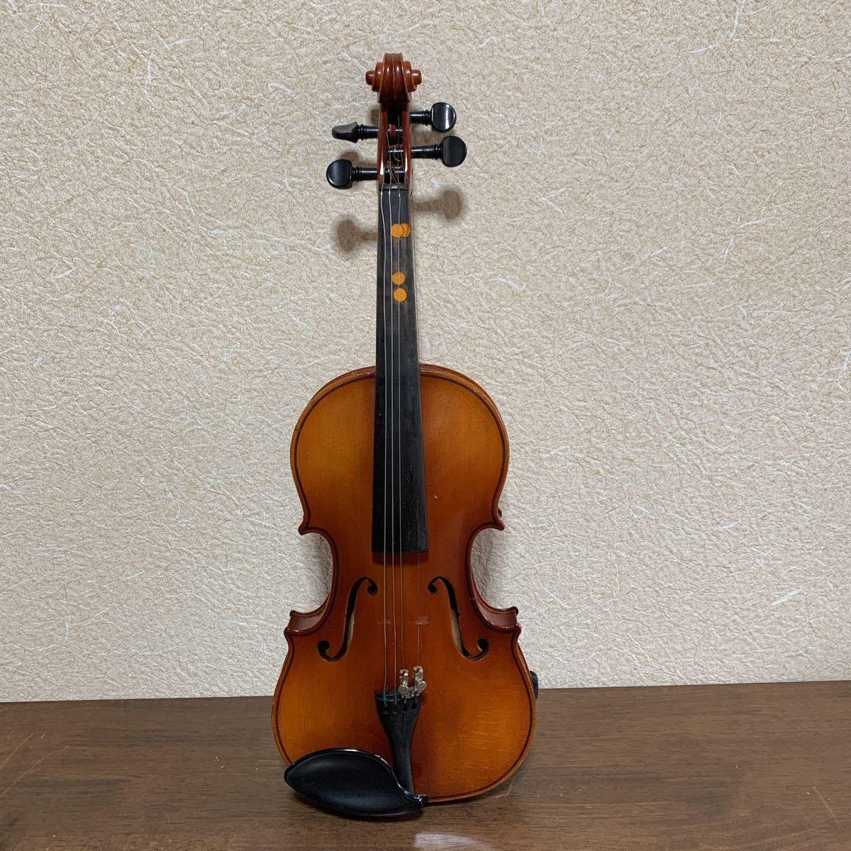 1円スタート SUZUKI 鈴木バイオリン スズキ バイオリン ハードケース付 弦楽器 中古 ジャンク_画像3