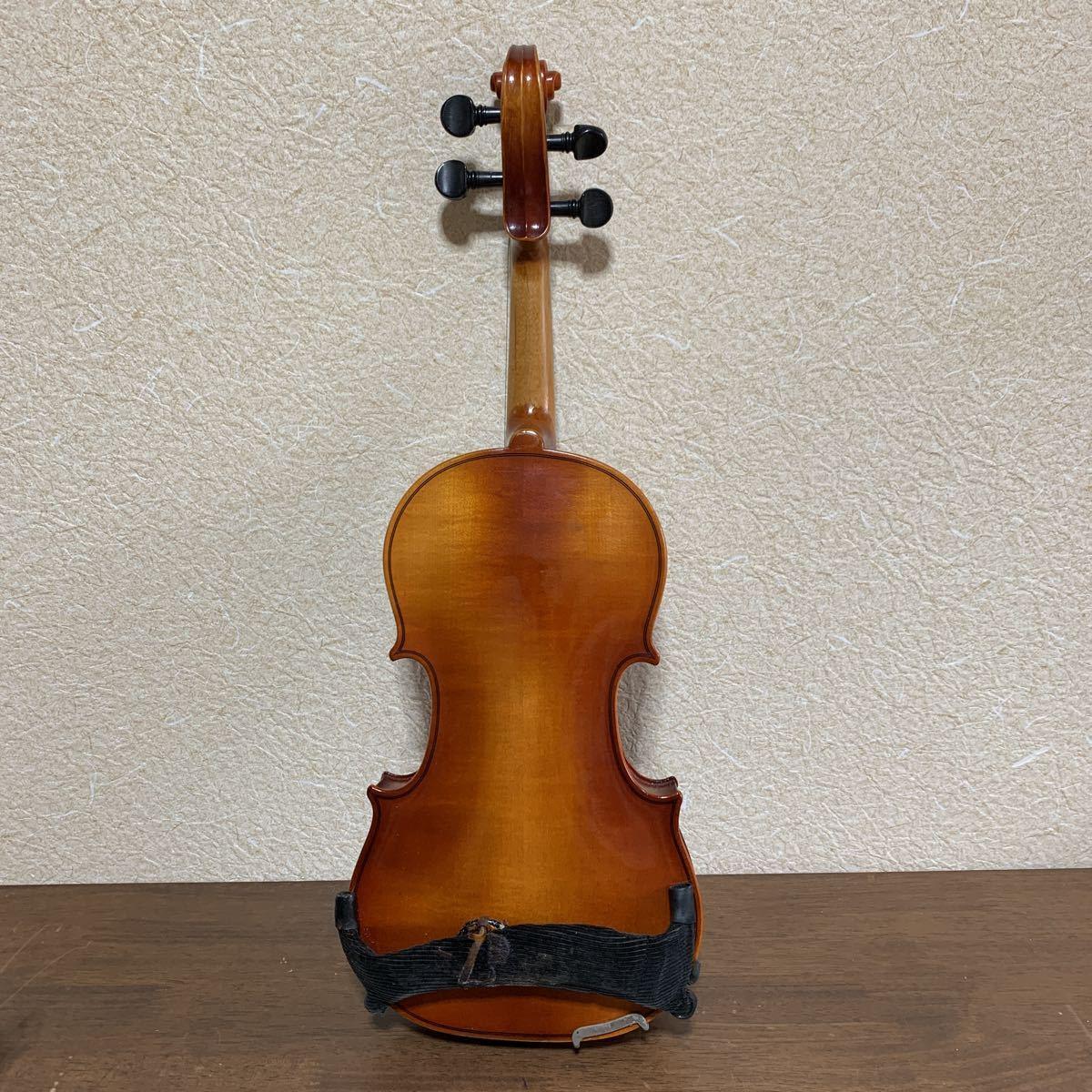 1円スタート SUZUKI 鈴木バイオリン スズキ バイオリン ハードケース付 弦楽器 中古 ジャンク_画像4