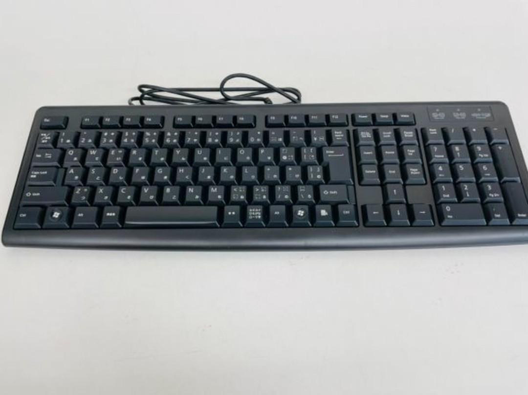 ELECOMエレコムキーボード menbraneタイプ TK-FMC008BK