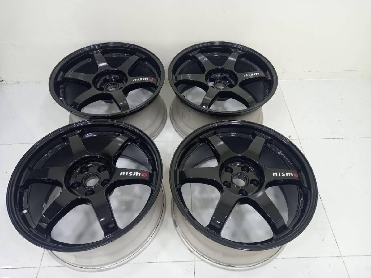 ★ 超高級品 ★ NISMO ★日産純正 R35 GTR ニスモ フMY17 RAYS 20インチ ホイール Nissan GTR R35 Nismo black edition