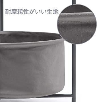 暗灰色 ビッグ キングラック サイドテーブル トレイテーブル リビング ソファ テーブル ナイトテーブル ベッド横 ソファー用_画像4