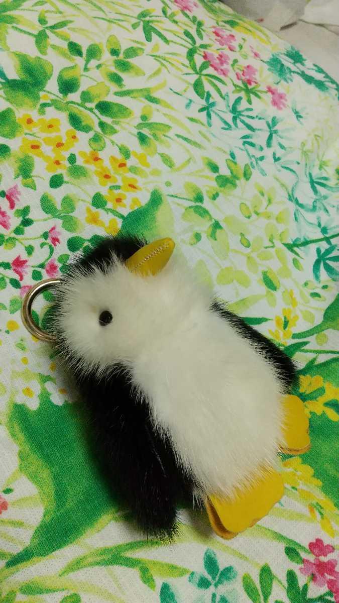 ミンクの可愛いペンギンさんストラップです_画像3