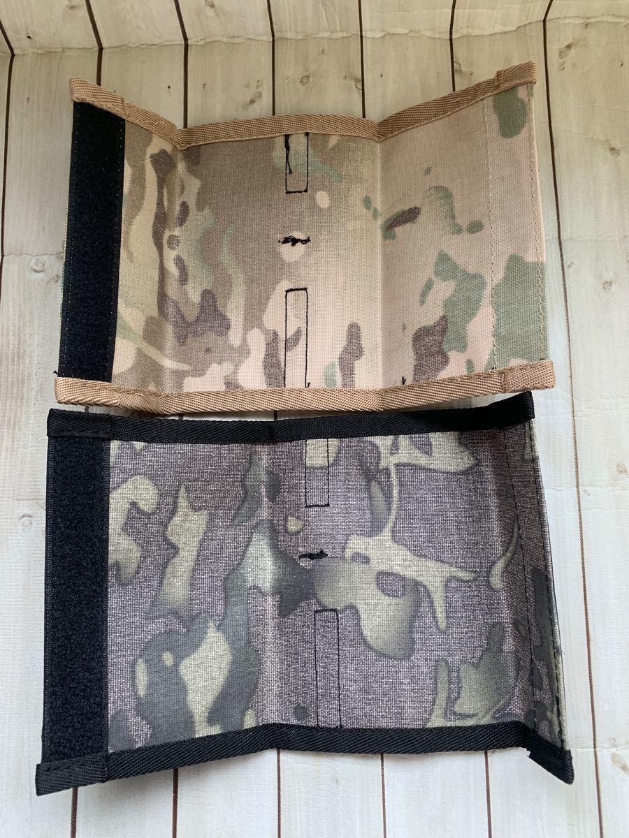 CB缶 ガスカバー 迷彩柄 ミリタリー キャンプ アウトドア 2枚セット