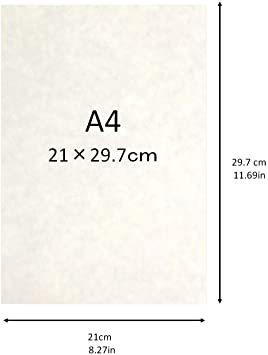 白 A4判 50枚 【Amazon.co.jp 限定】和紙かわ澄 OA和紙 雲水 白 A4判 50枚_画像2