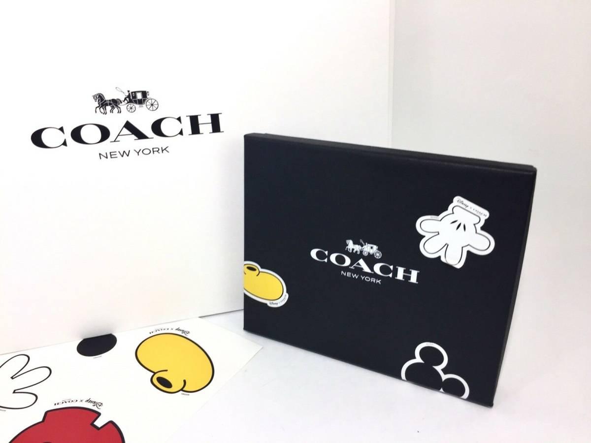 コーチ COACH キーホルダー コーチ×ディズニー ミッキーハング タグ セット バッグ チャーム キーリング F59882 MTI  定価20000円