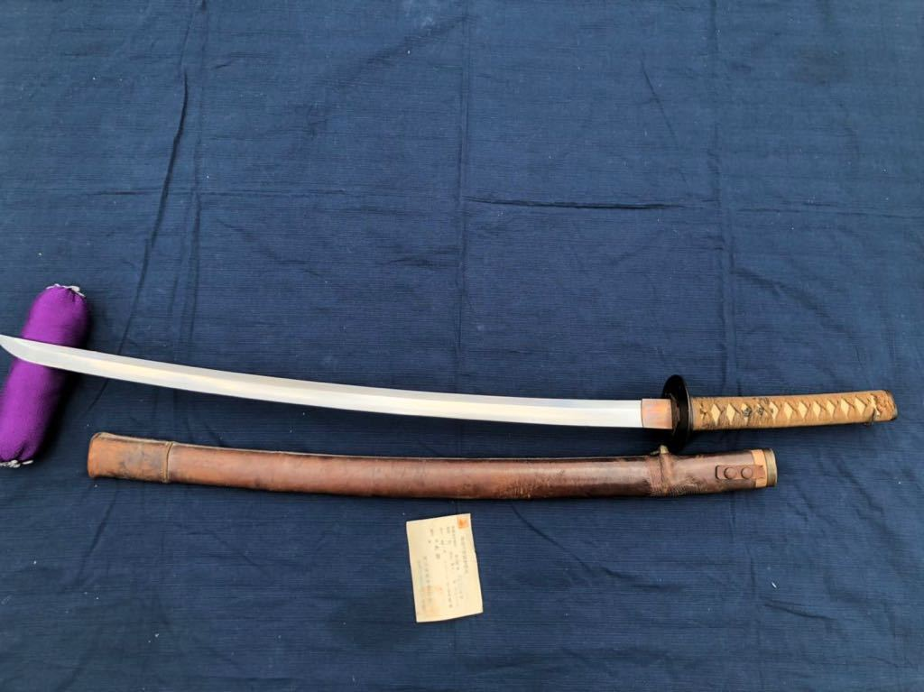 軍刀 大日本帝国陸軍 日本軍 70cm 無銘 日本刀 刀 陸軍 軍隊_画像1