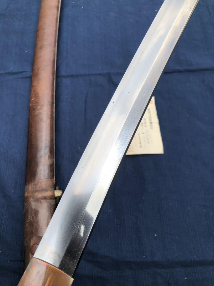 軍刀 大日本帝国陸軍 日本軍 70cm 無銘 日本刀 刀 陸軍 軍隊_画像3