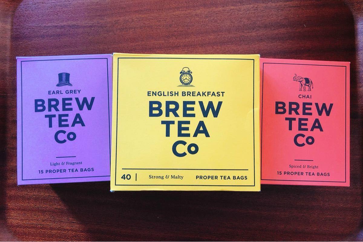 【新品】ブリューティーカンパニー 紅茶 詰め合わせセット ティーバッグ3種類3個 合計9個