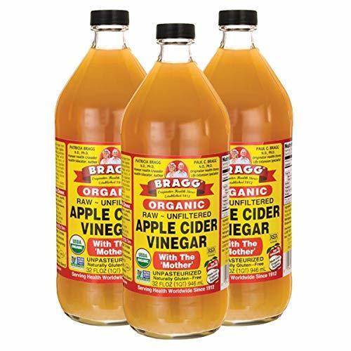 新品サイズ3個 Bragg オーガニック アップルサイダービネガー 【国内発送 正規品】 946ml りんご酢 UFEI_画像1