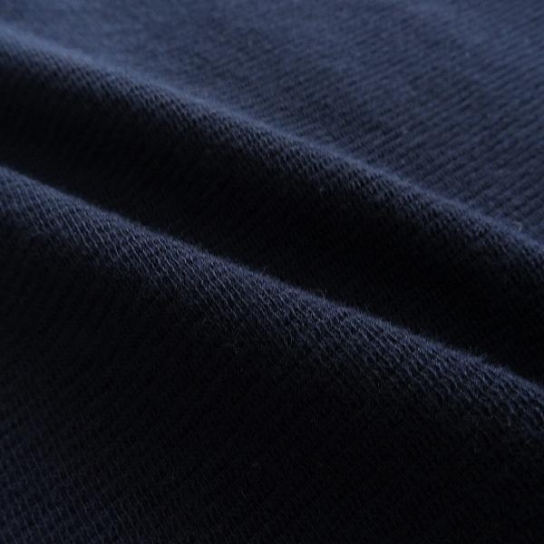 新品 オロビアンコ イタリア製 ラグラン Vネック 半袖 ニットソー S 紺 【I45273】 Orobianco Tシャツ 春夏 メンズ サマー カットソー_画像6