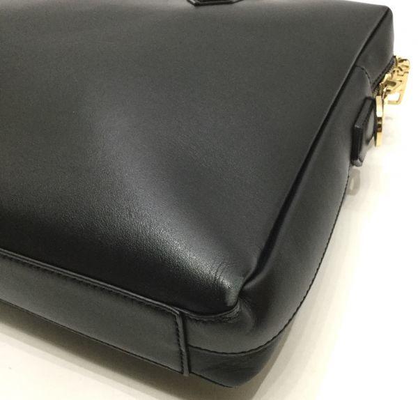 正規品 DOLCE&GABBANA レザーブリーフケース ドルチェ&ガッバーナ ドルガバ D&G ビジネスバッグ BAG カーフレザー 黒 ブラック 近年物 YB_画像9