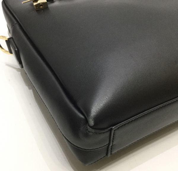 正規品 DOLCE&GABBANA レザーブリーフケース ドルチェ&ガッバーナ ドルガバ D&G ビジネスバッグ BAG カーフレザー 黒 ブラック 近年物 YB_画像8