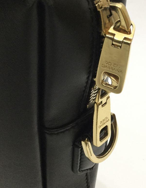 正規品 DOLCE&GABBANA レザーブリーフケース ドルチェ&ガッバーナ ドルガバ D&G ビジネスバッグ BAG カーフレザー 黒 ブラック 近年物 YB_画像10